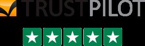 Trustpilot – 5 stjerner